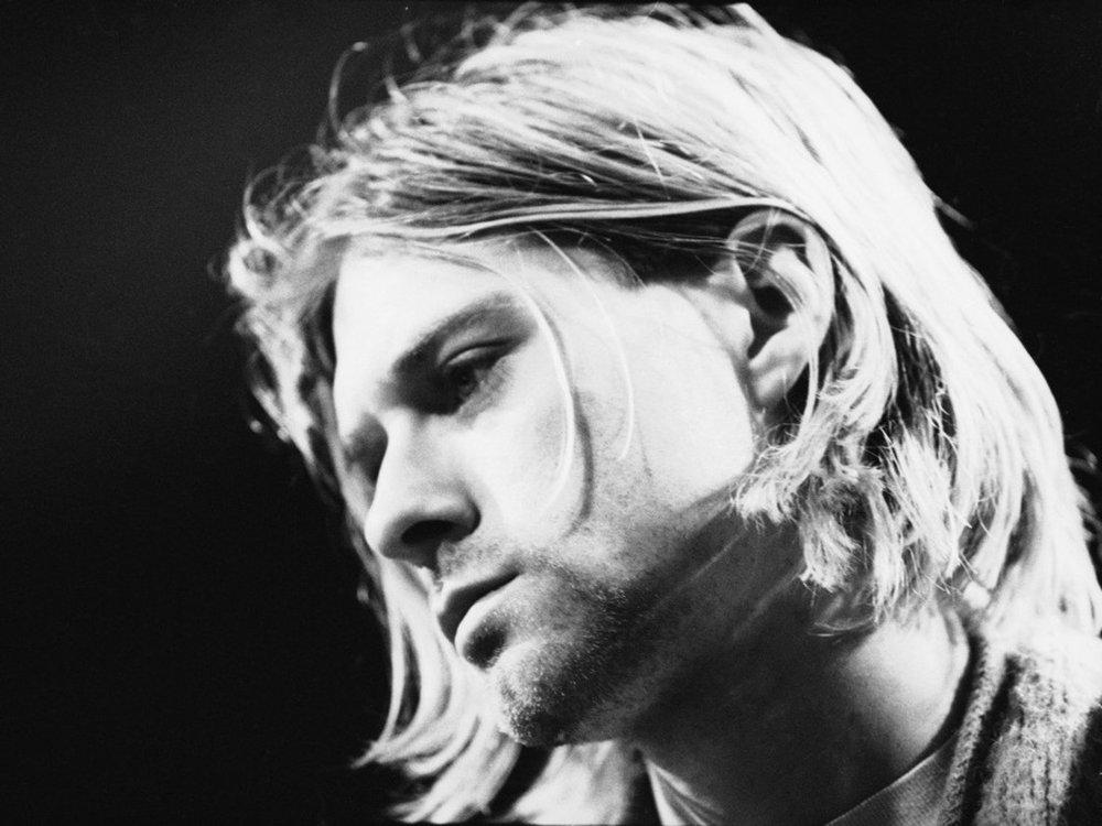 Kurt Cobain performing atUnplugged