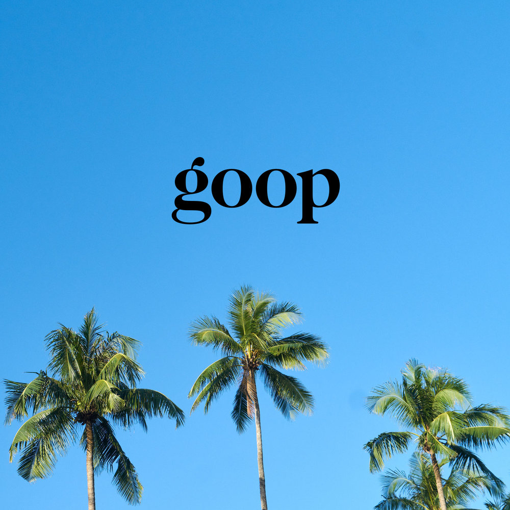 goop travel app