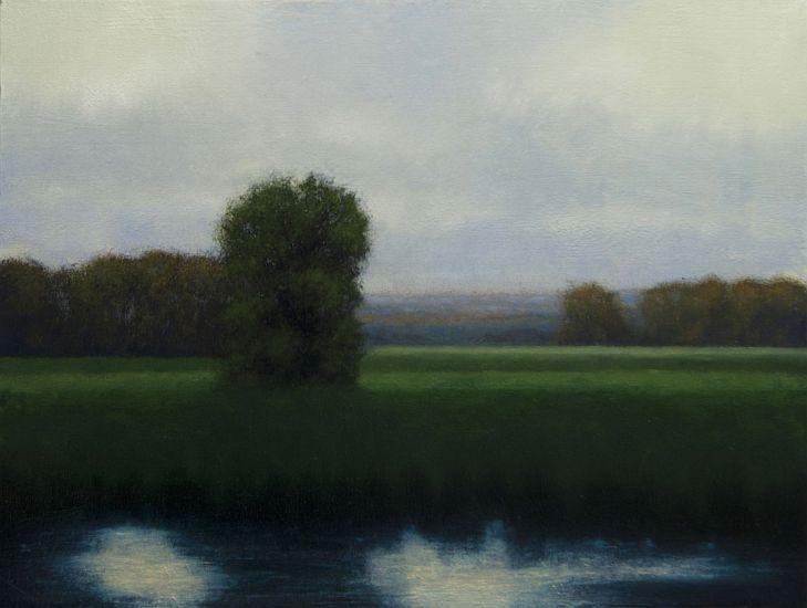 """""""Marsh"""" Oil on canvas 18"""" x 24"""""""