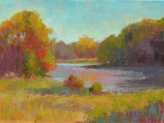 """""""Autumn Afternoon"""", Oil on canvas"""