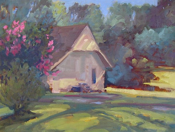 Gray_DodsonBarn at Crooked Intention, oil, 12x16-c.png