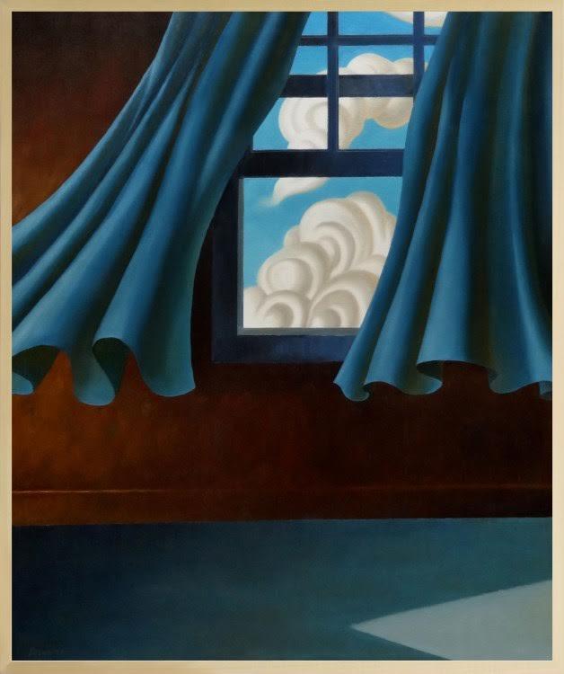 Sky and Blue Curtains, 36x30, oil on canvas.jpg