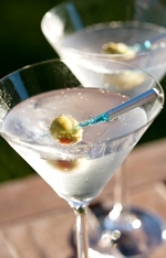 The perfect martini - shaken' not stirred.