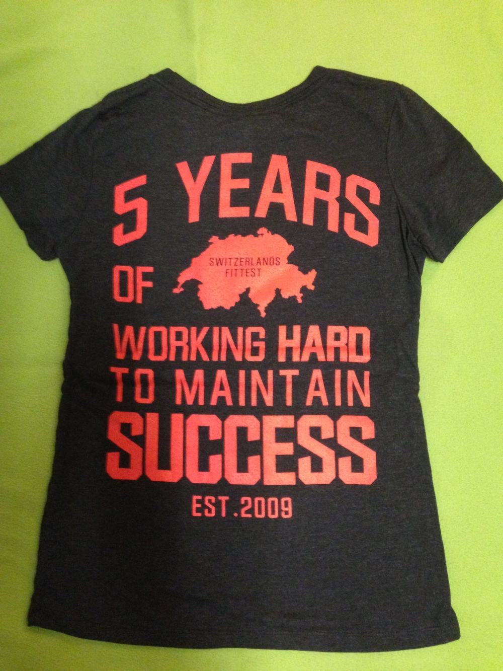 Get our 5 years special edition shirts!