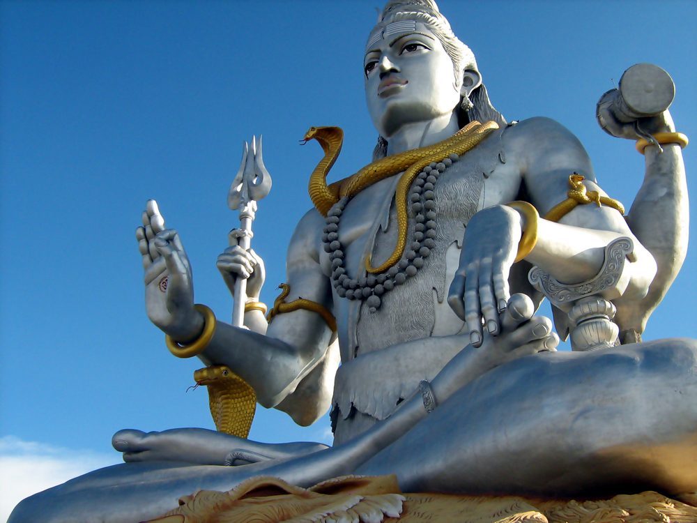 A statue of Shiva, the Destroyer