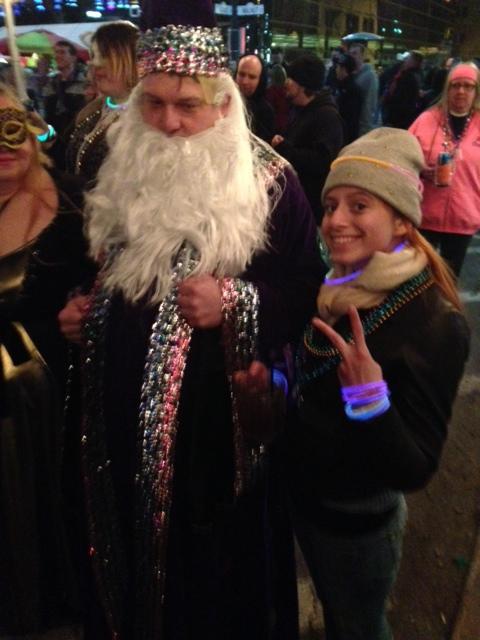 Also I met a sorcerer.