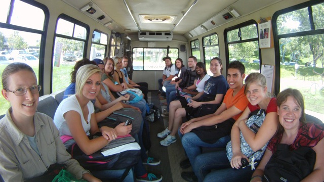 The Shuttle is the Best way to Campus!