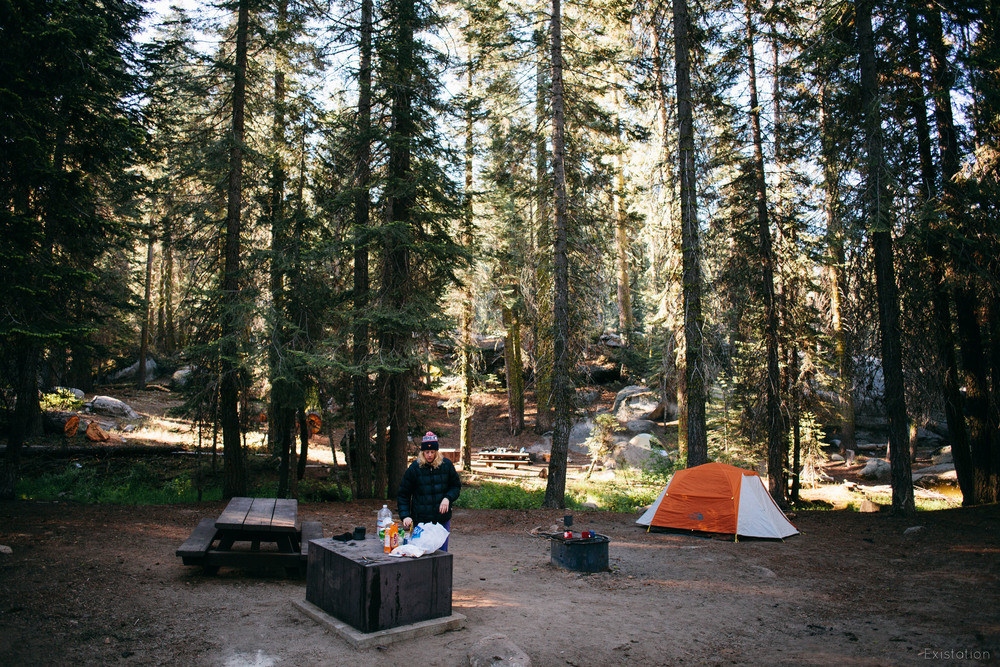 camping sequoia national forest