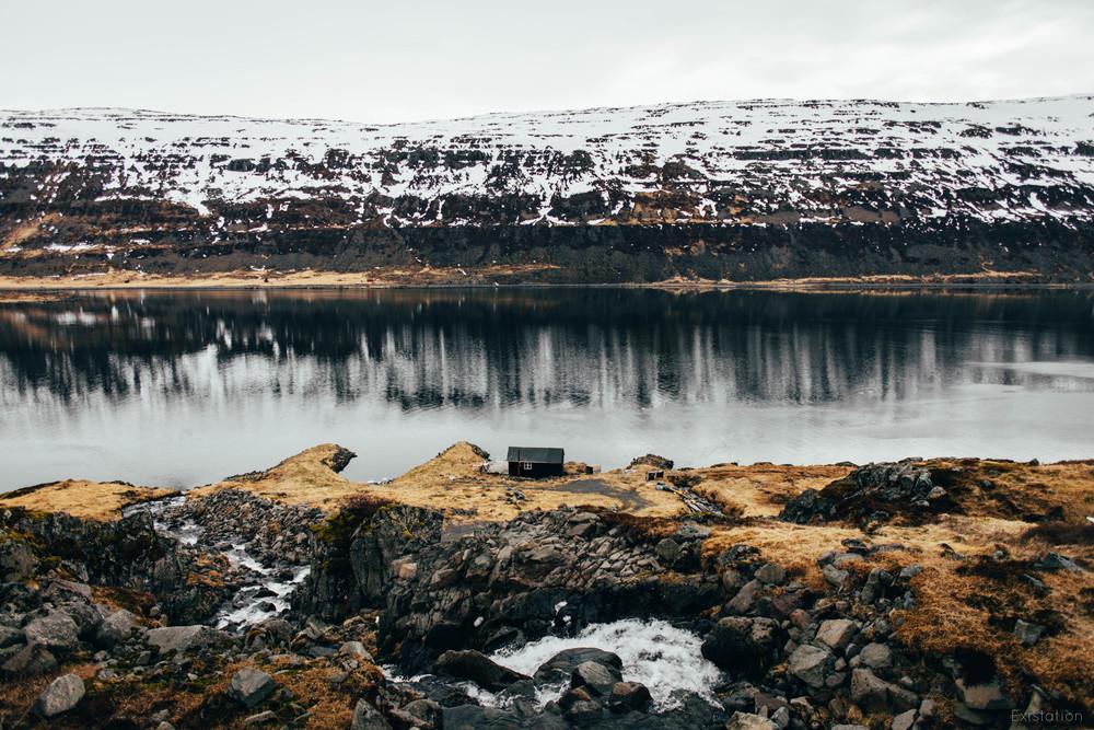 westfjords iceland cabin