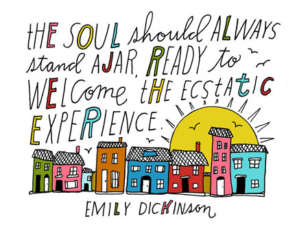 Art by Lisa Congdon from 'Whatever You Are, Be a Good One.'