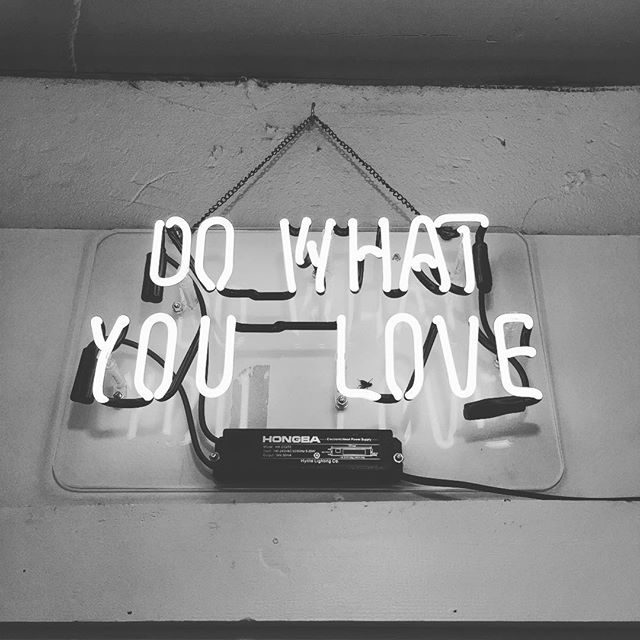 #neon #dowhatyoulove