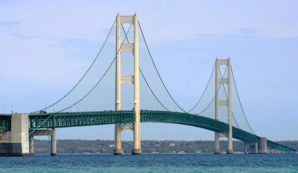 The Mackinac Bridge!