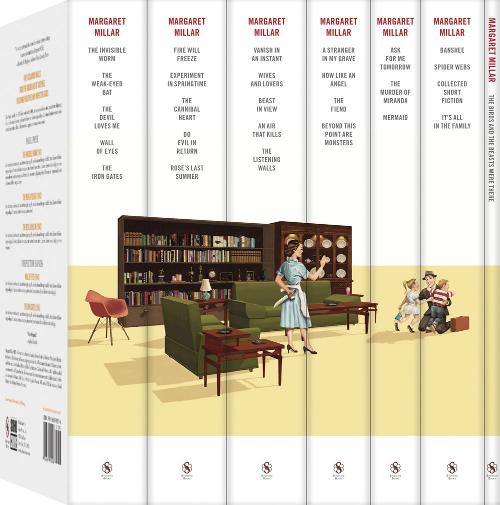 Collect them all to complete the spine illustration.