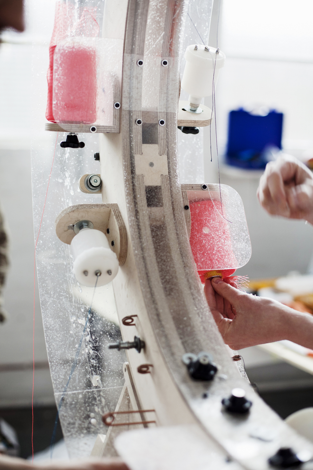 The Thread Wrapping Machine, Anton Alvarez, photo Märta Thisner
