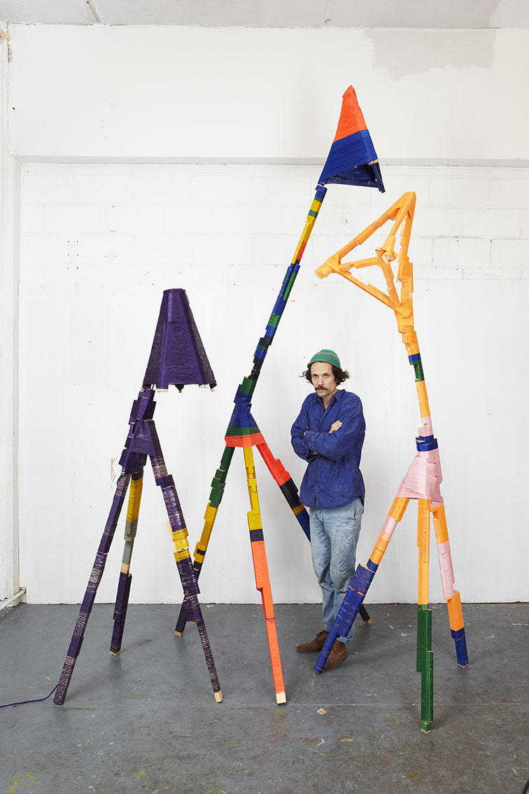 The Thread Wrapping Machine, Anton Alvarez, photo Paul Plews, courtesy Gallery Libby Sellers