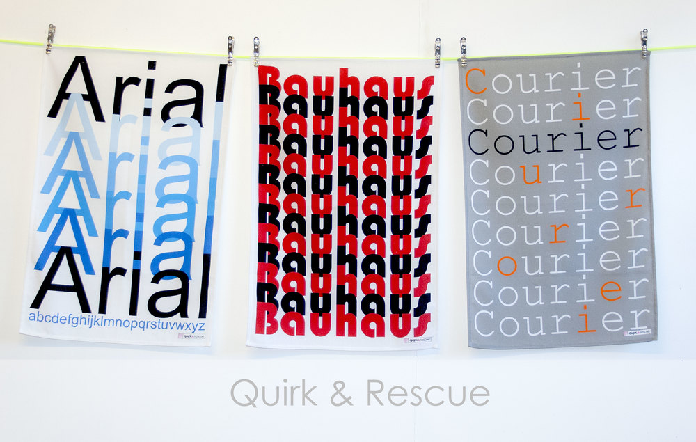 Quirk & Rescue Tea Towels