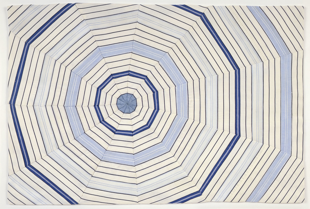 Louise Bourgeois, Untitled, 2006, Fabric, 15 x 22 1/4 inches. Courtesy Cheim & Read, New York. The Easton Foundation/ Licensed by VAGA, New York, NY.