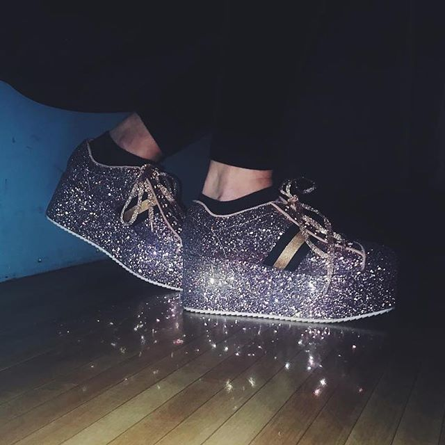 it's called fashion, sweetie. #glitterseason . 📸@rbbytrvs