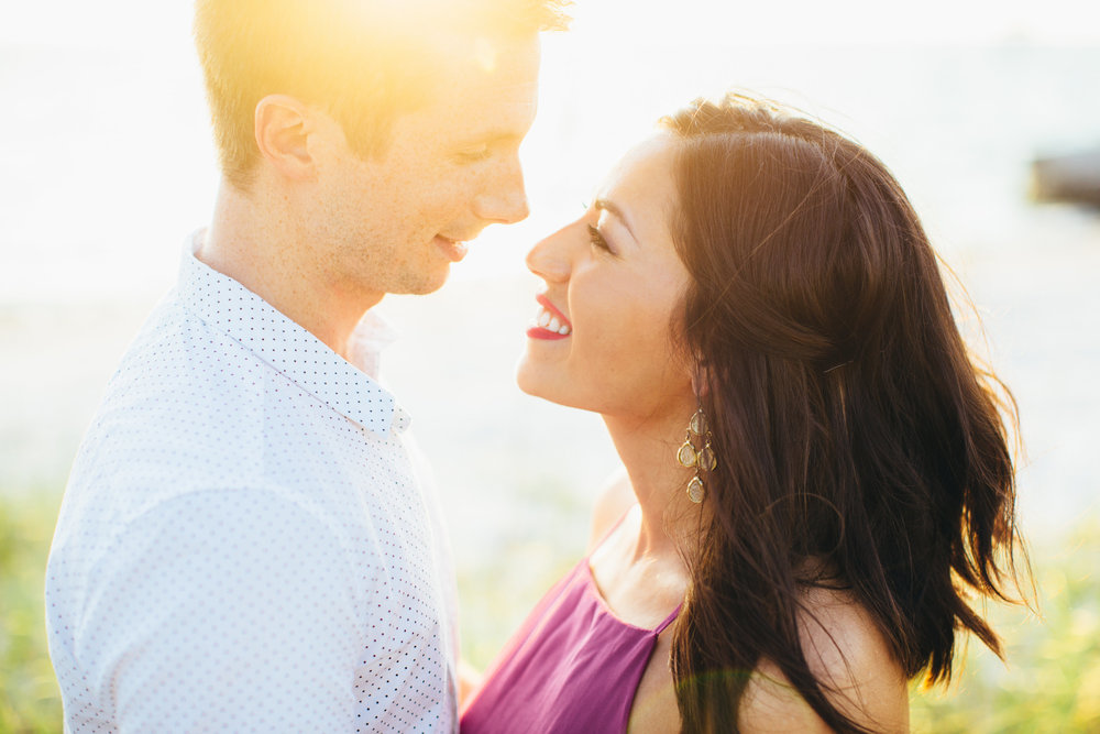 Priska & Russell | Engagement | Downtown St. Petersburg & Ft. De Soto, Florida | Benjamin Hewitt Photography