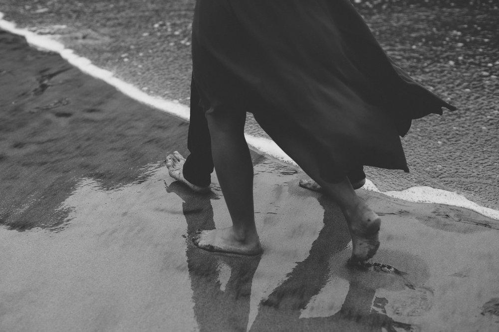 Benjamin Hewitt Photography | Romantic Pfeiffer Beach Portraits | Big Sur, California