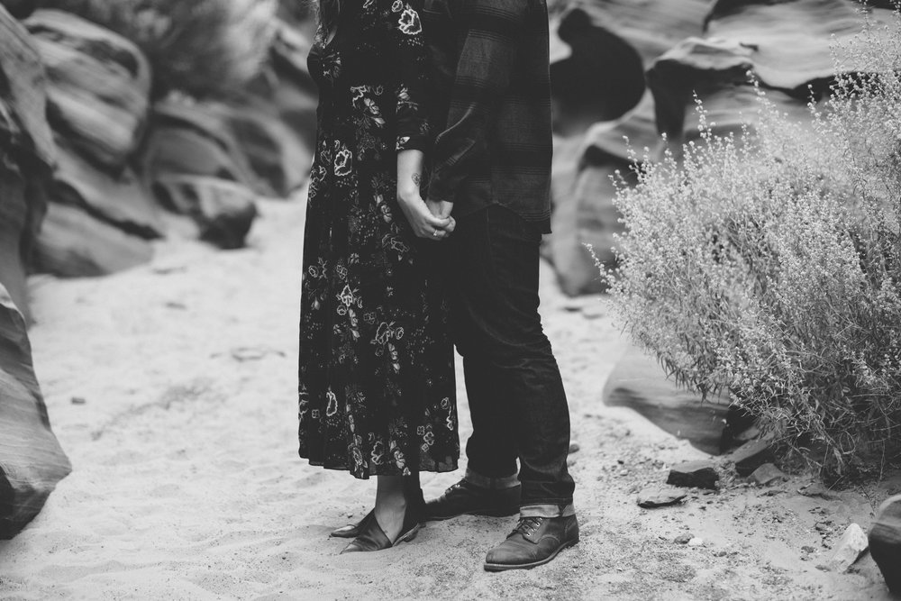 Arizona Engagement Photographer | Benjamin Hewitt Photography | Antelope Canyon - Waterhole Canyon