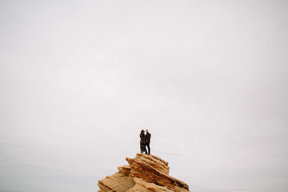 Arizona Engagement Session | Benjamin Hewitt Photography | Antelope Canyon - Waterhole Canyon
