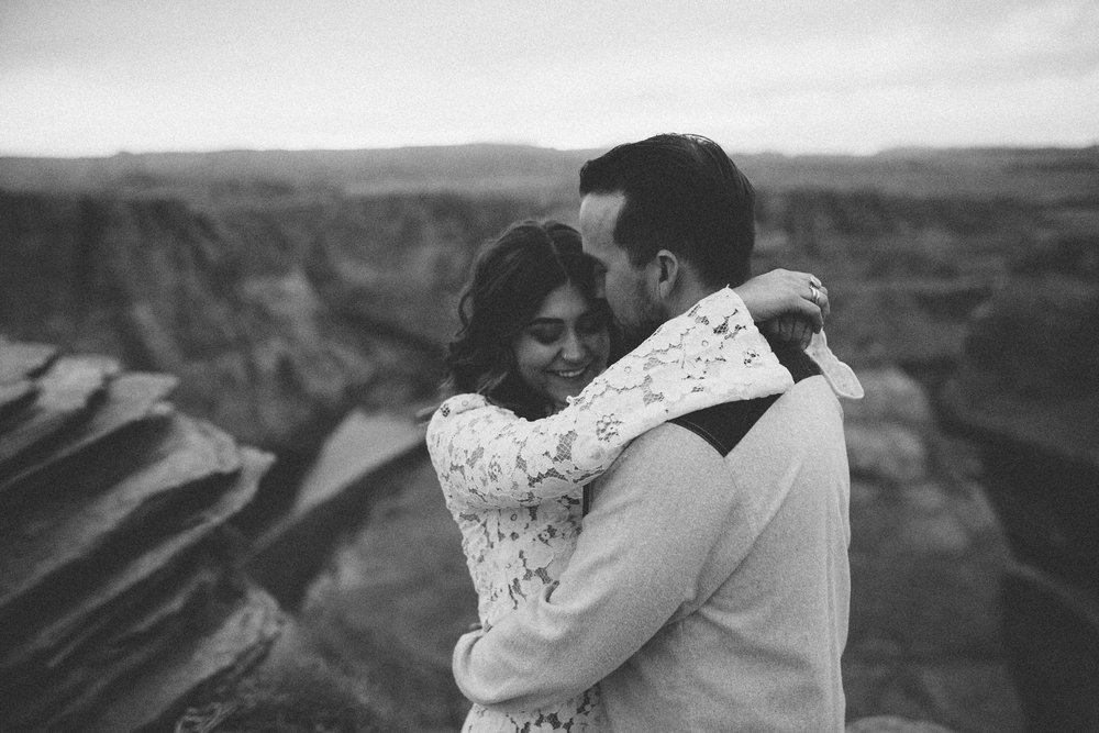 Arizona Engagement Photographer | Benjamin Hewitt Photography | Horseshoe Bend