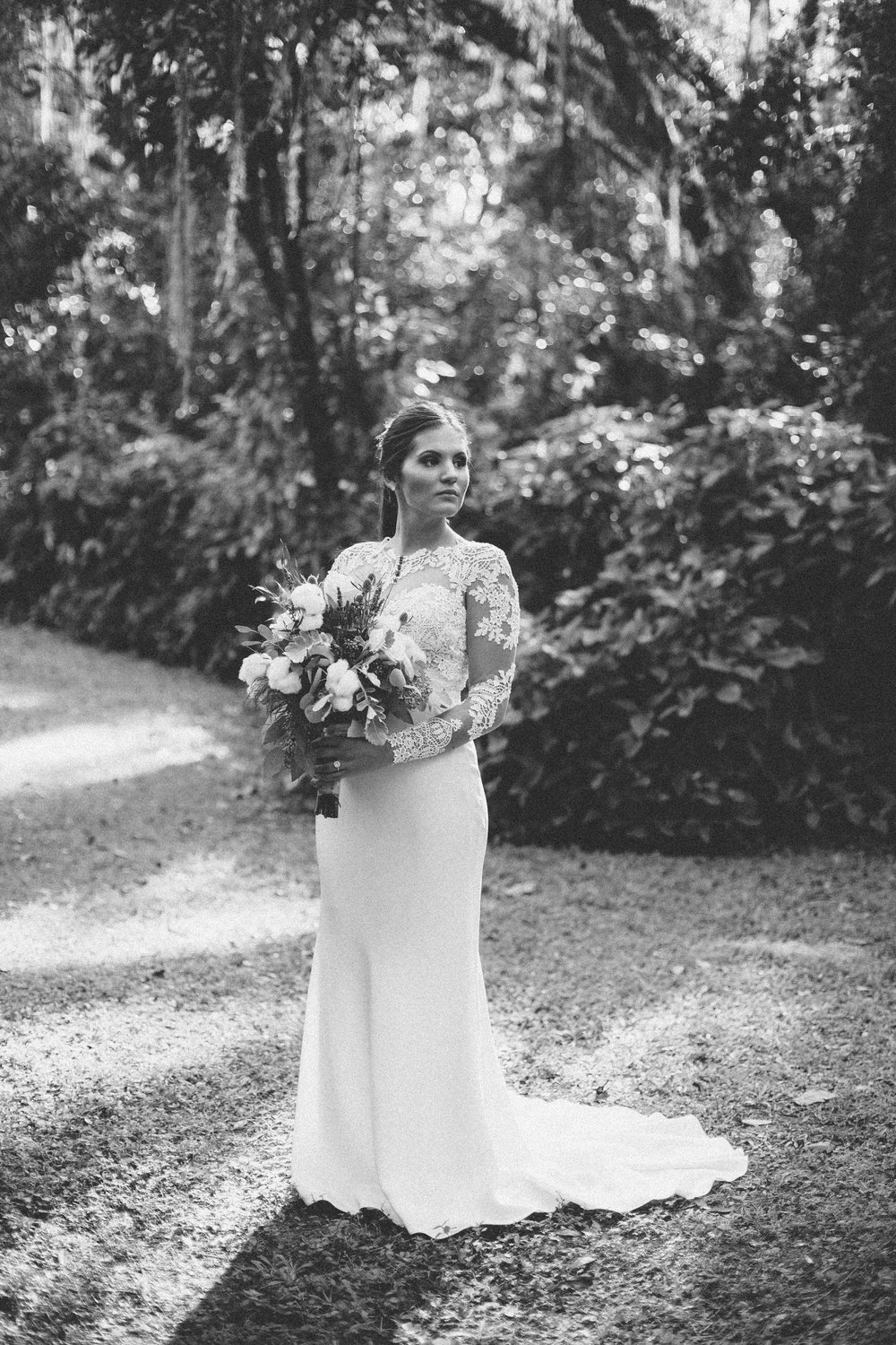 Plant City Florida Wedding Photographer Benjamin Hewitt Photography Bride Portraits