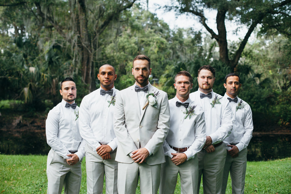 Wedding Groomsmen Plant City Florida Photographer Benjamin Hewitt Photography