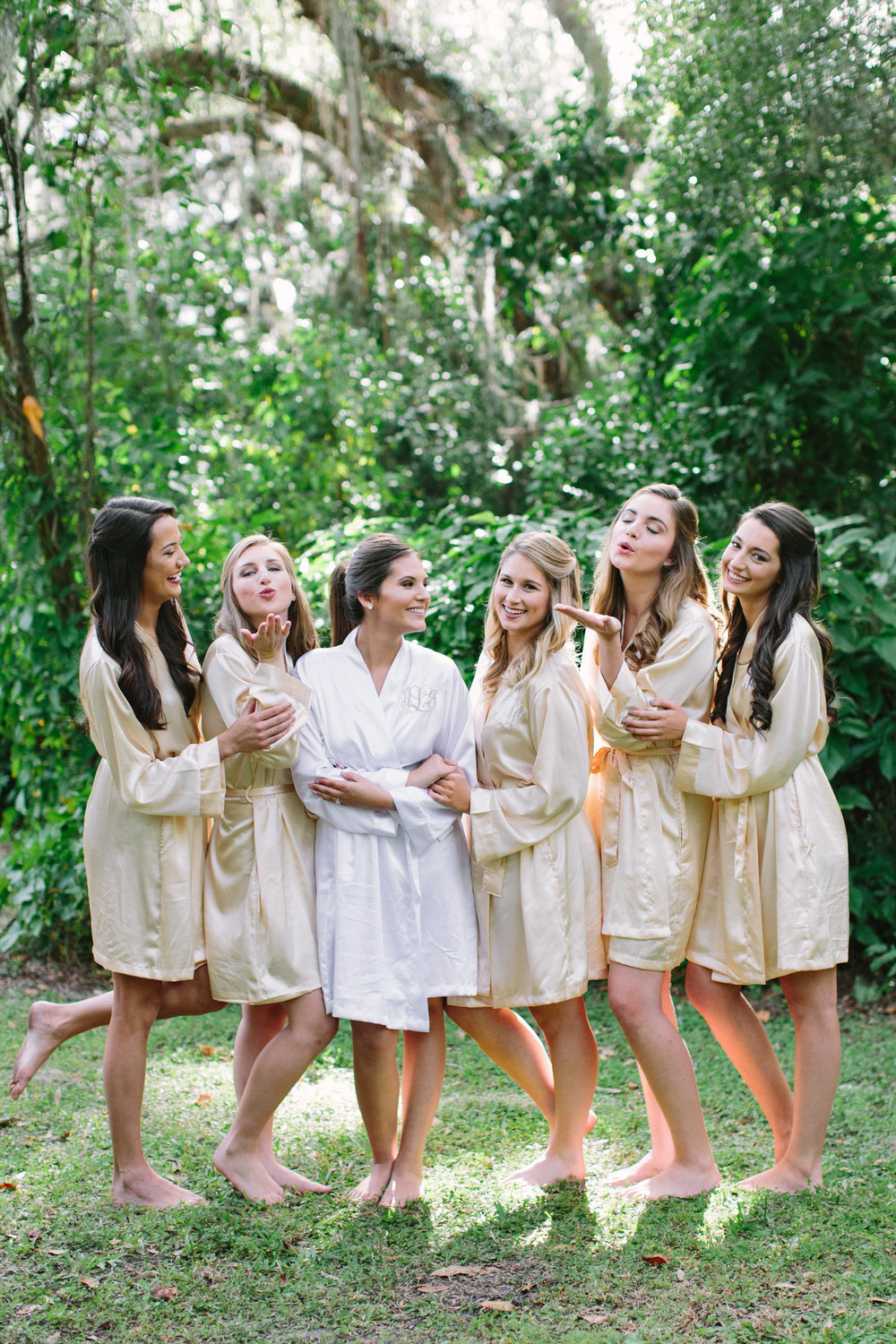 Bridesmaids Plant City Florida Wedding Photographer Benjamin Hewitt Photography