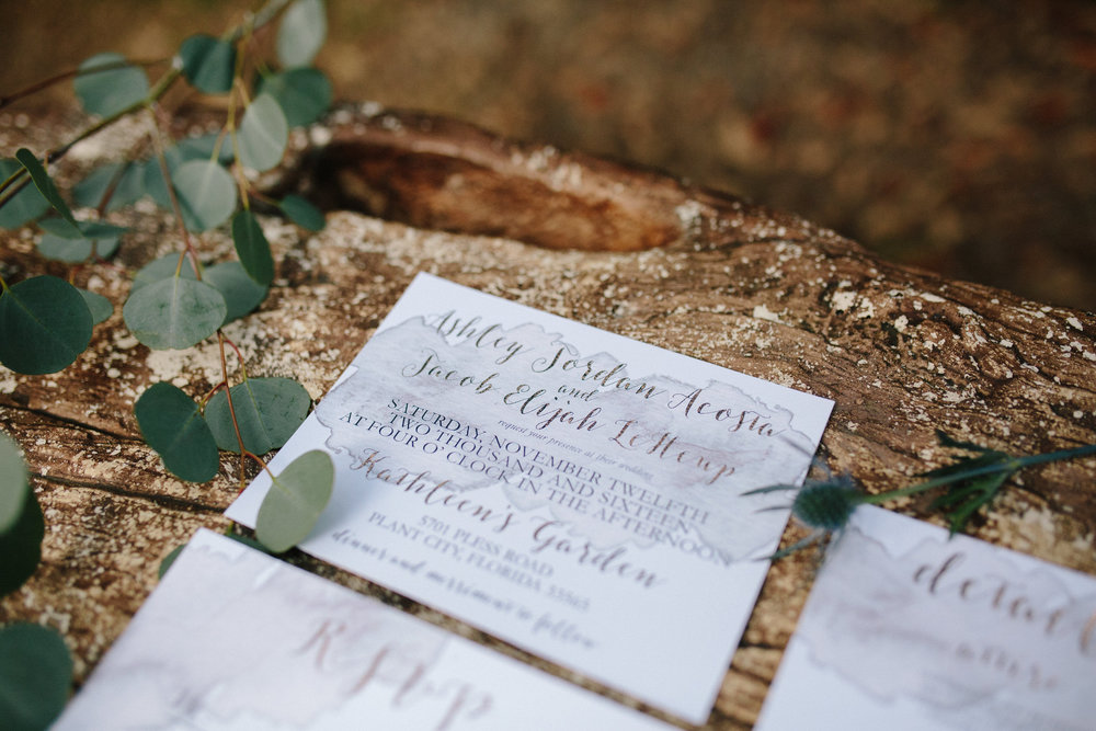 Wedding Invitations Plant City Florida Wedding Photographer Benjamin Hewitt Photography