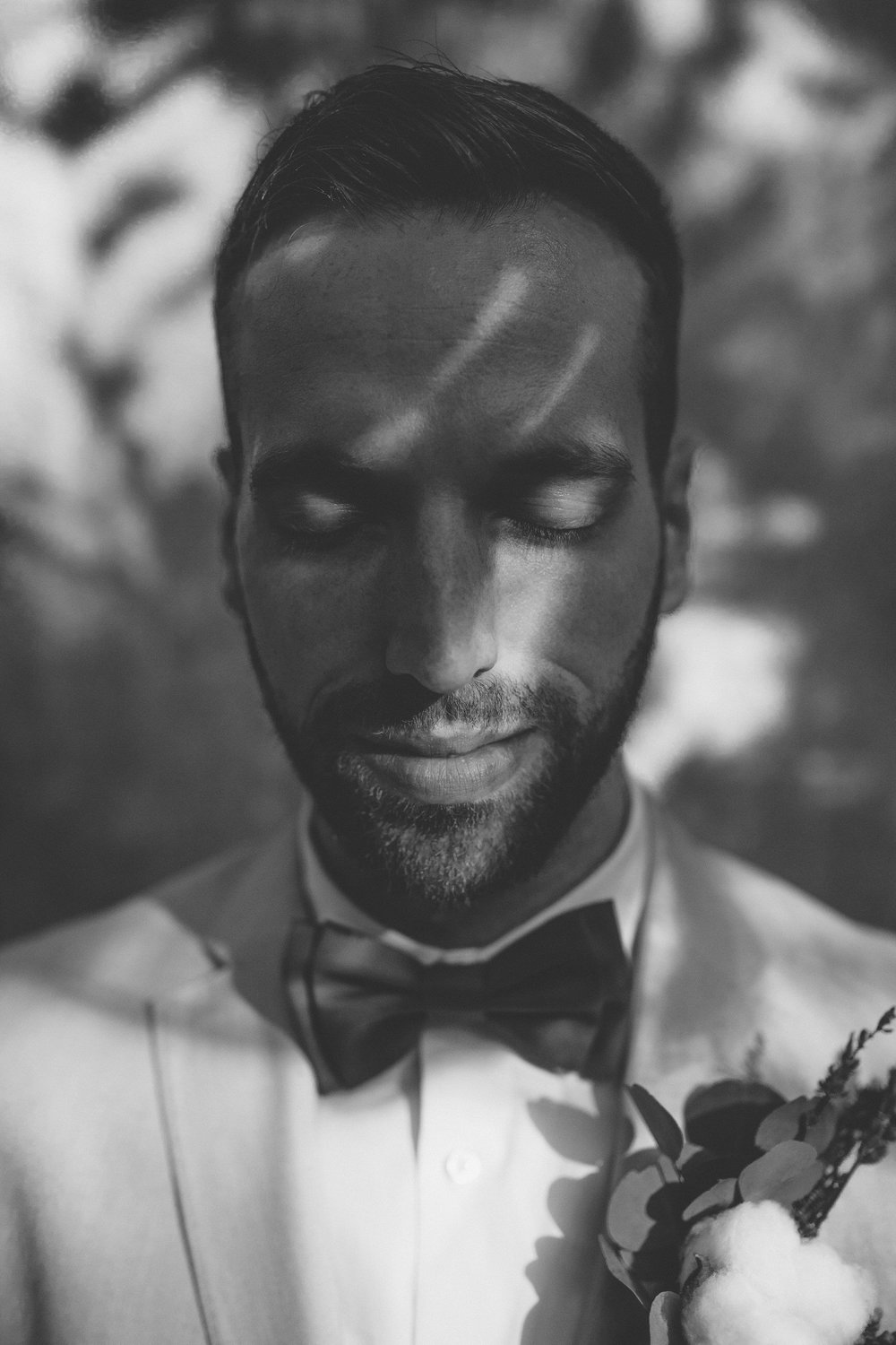 Groom Portrait Plant City Florida Wedding Photographer Benjamin Hewitt Photography