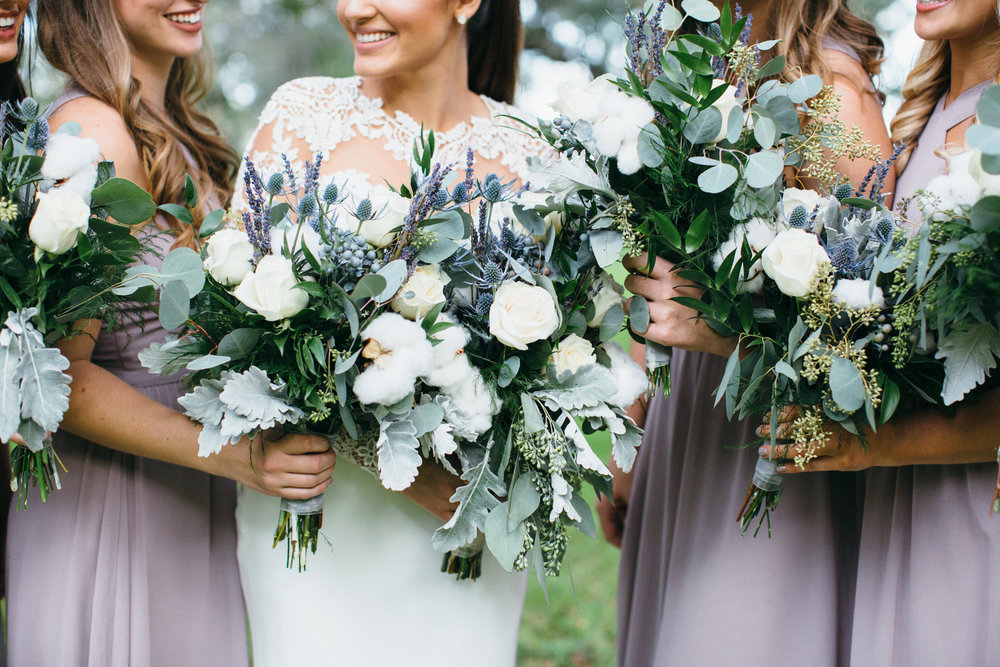 Wedding Bouquet Florals Bridesmaids Plant City Florida Photographer Benjamin Hewitt Photography