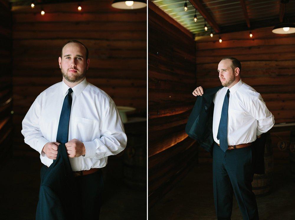 Groom Photo | Florida Rustic Barn Weddings | Plant City, Florida Wedding Photography | Benjamin Hewitt Photographer
