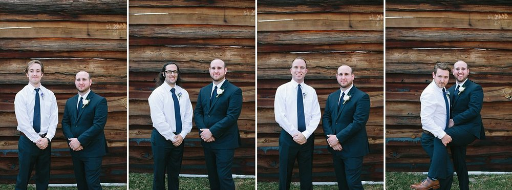 Groomsmen | Florida Rustic Barn Weddings | Plant City, Florida Wedding Photography | Benjamin Hewitt Photographer