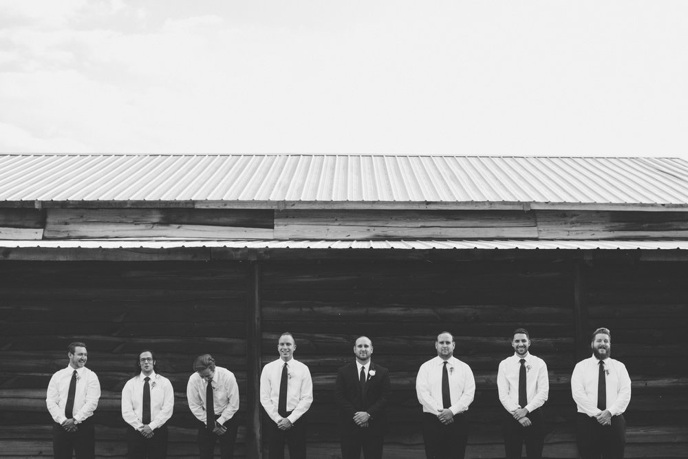 Groomsmen | Florida Rustic Barn Weddings | Plant City, Florida Wedding Photography | Benjamin Hewitt Photographer