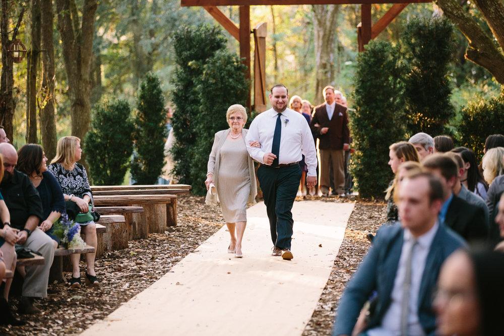 Gables Ceremony | Florida Rustic Barn Weddings | Plant City, Florida Wedding Photography | Benjamin Hewitt Photographer