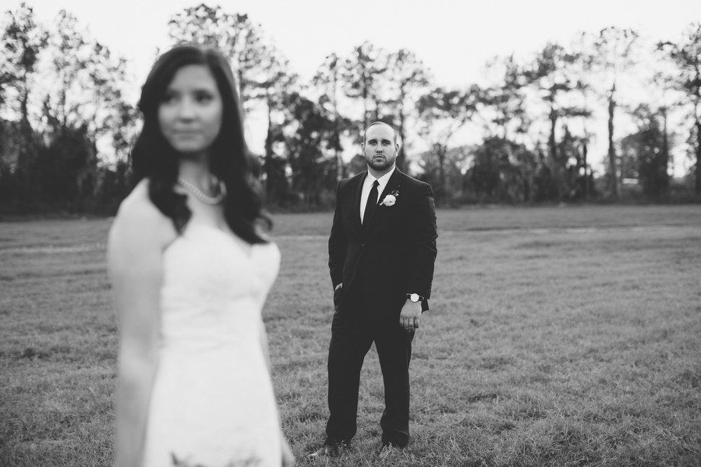 Bride Groom Portraits | Florida Rustic Barn Weddings | Plant City, Florida Wedding Photography | Benjamin Hewitt Photographer