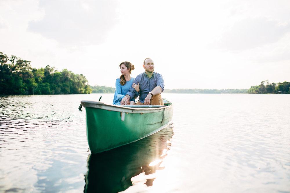 Canoe Engagement Session