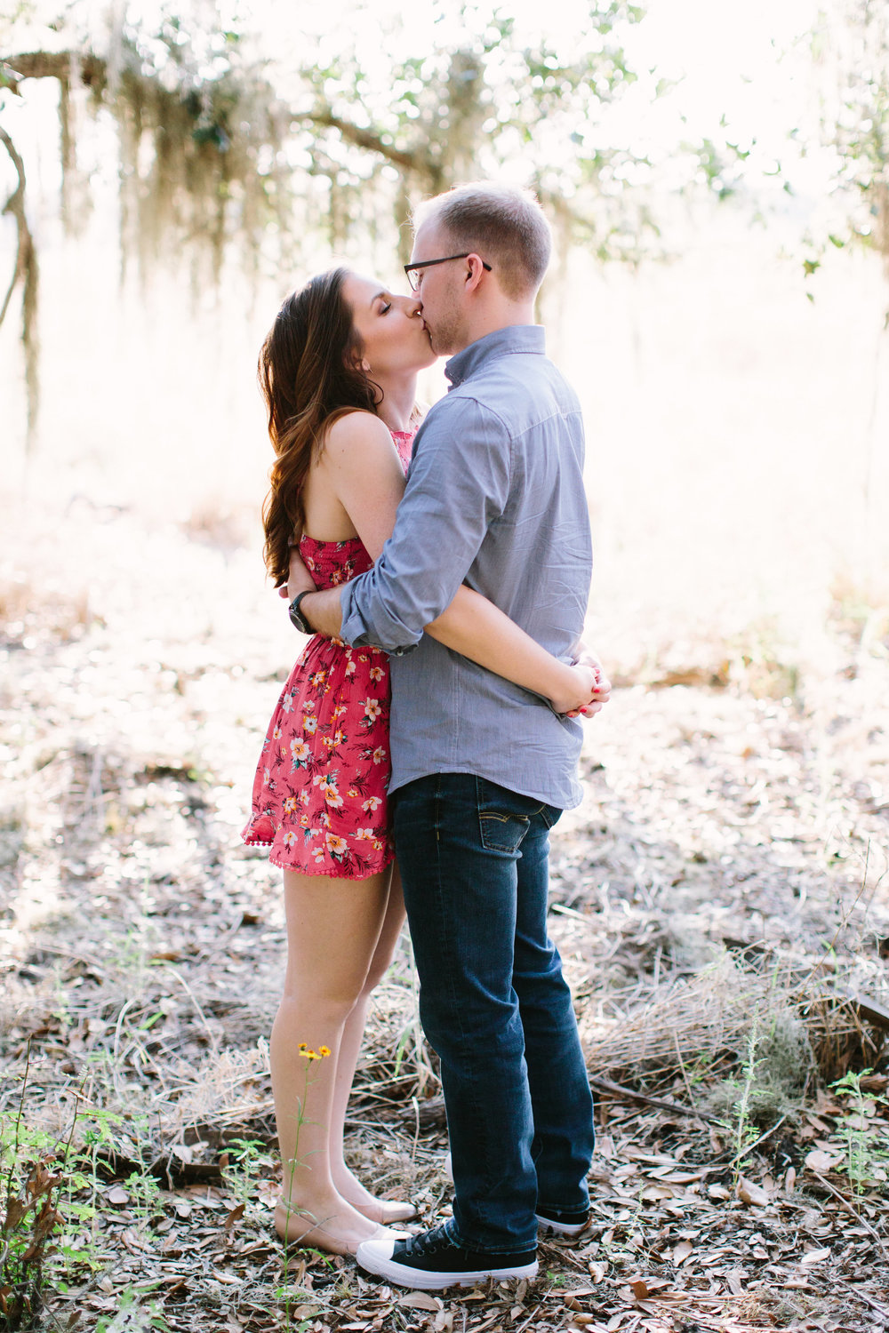 Field of Wild Flowers Engagement Session | Benjamin Hewitt Photography