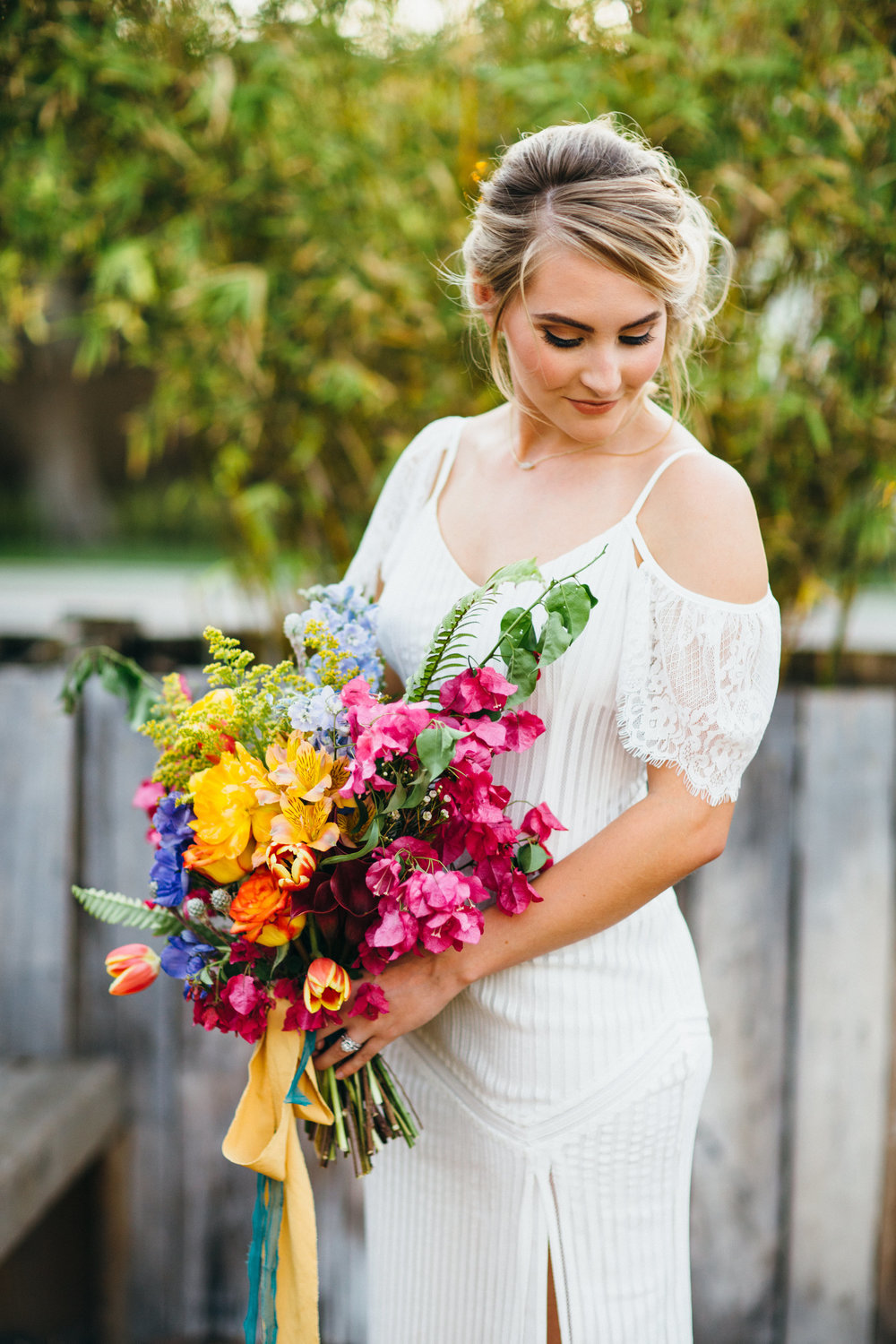 Wedding Inspiration | Summer Boho Fiesta | Benjamin Hewitt Photography