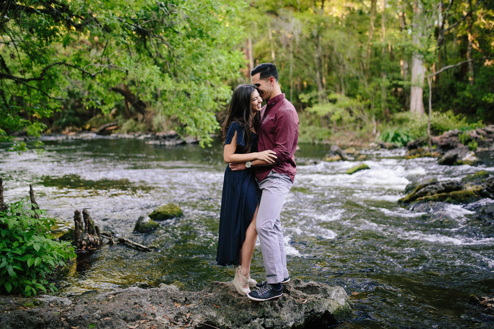 hillsborough river state park engagement pics