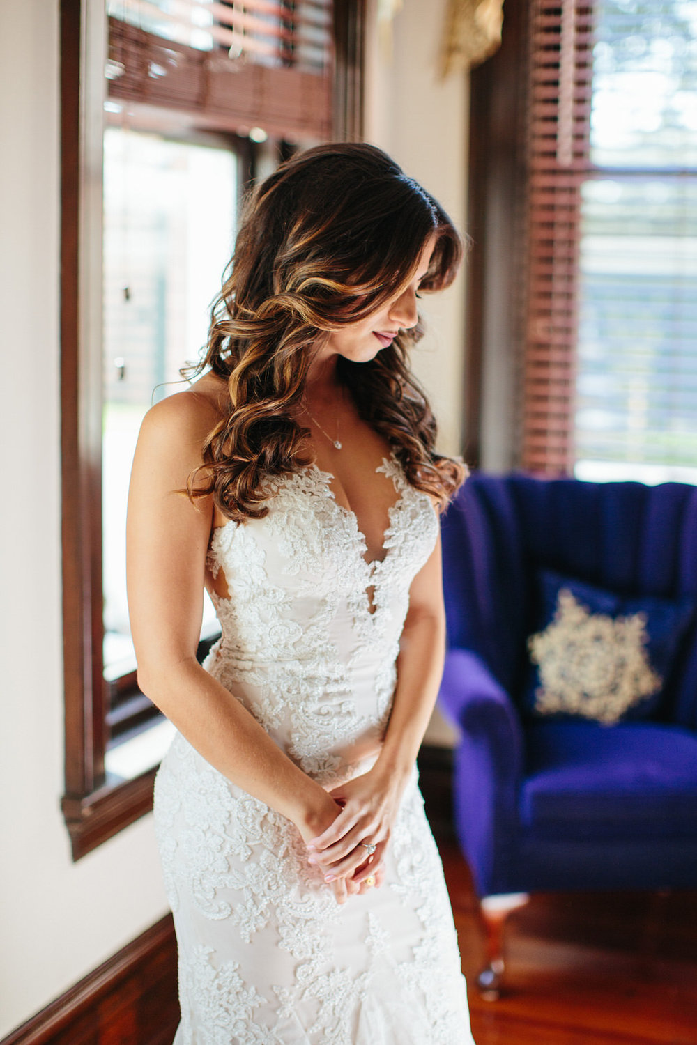 Bride getting ready photos Armature Works Tampa