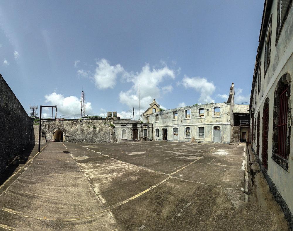 In the citadel, Fort George, Grenada. Photo, Tom Miller