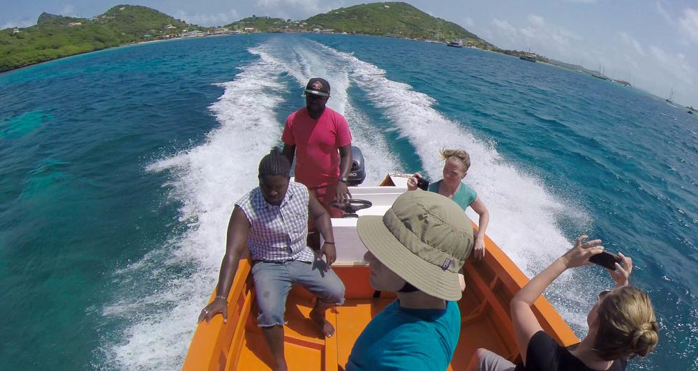 Leaving Union Island - Video Still, Tom Miller