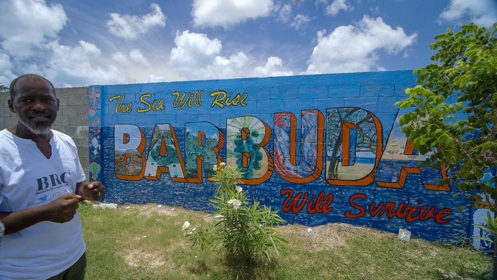 John Mussington,  Barbuda Research Complex  - Video Still, Tom Miller
