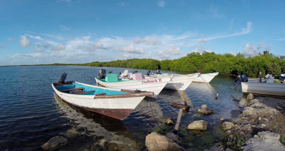 Boats, Codrington Lagoon