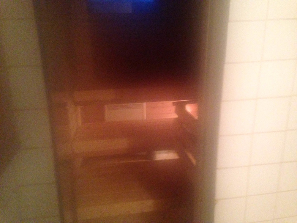 Sauna (in the main house)