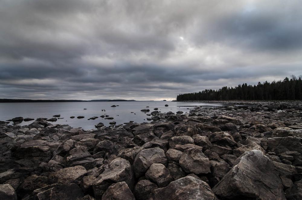 Nurmes, on the Pielinen Lake - still, Tom Miller