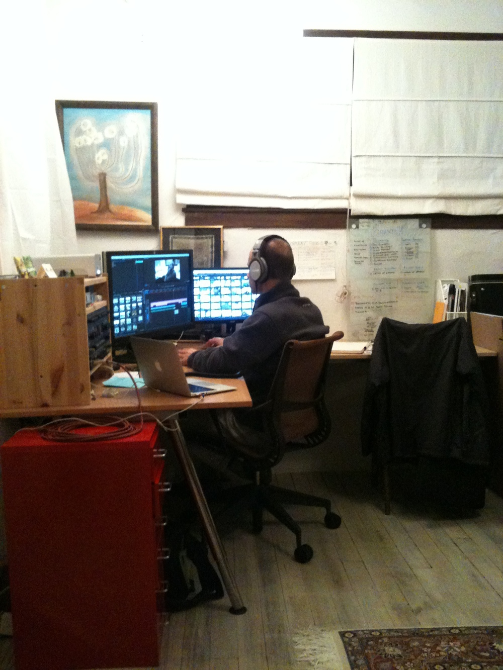 Tom MIller, Editing at home